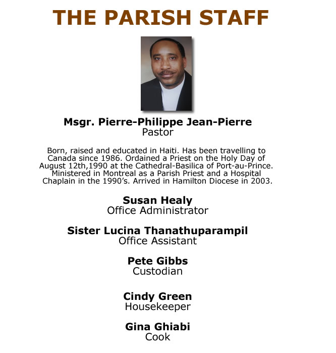 Parish Staff