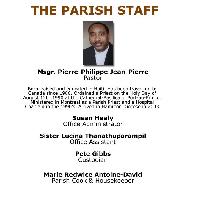 Parish Team