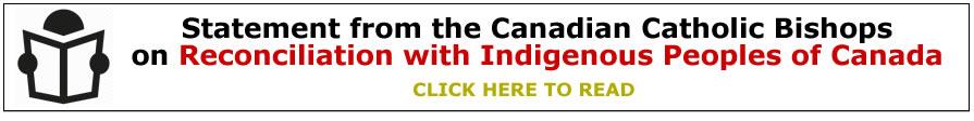 Canadian Catholic Bishops Statement